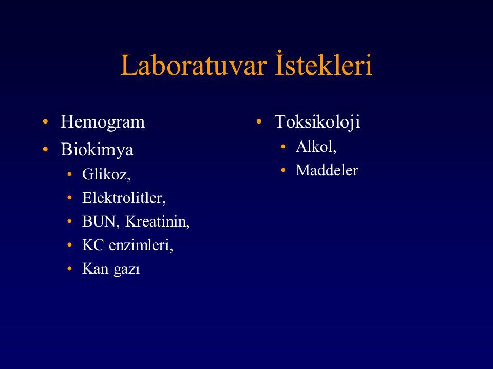 Laboratuvar İstekleri