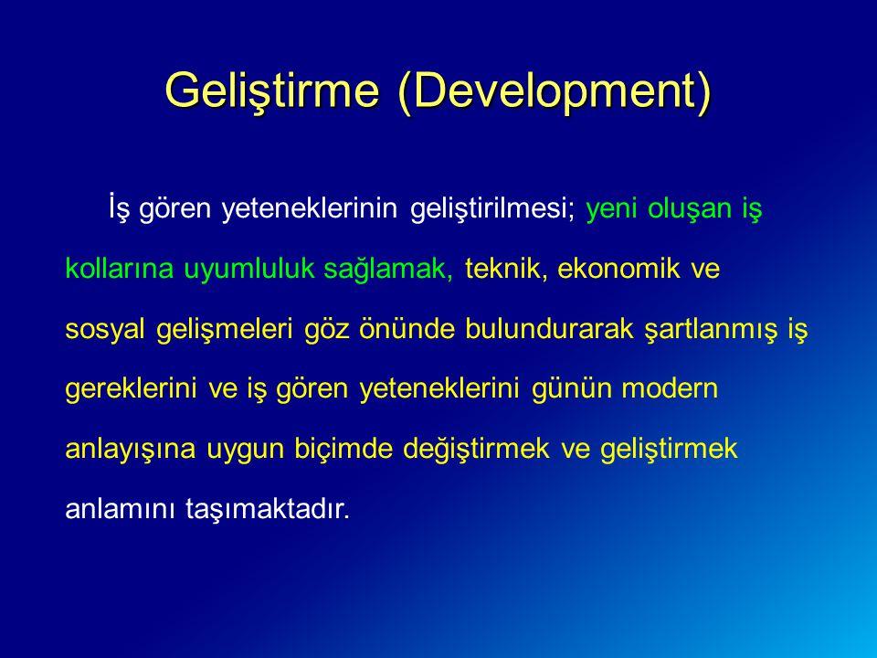 Geliştirme (Development)