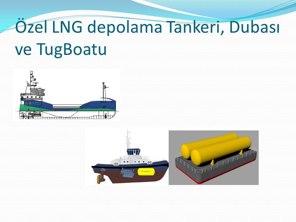 Özel LNG depolama Tankeri, Dubası ve TugBoatu