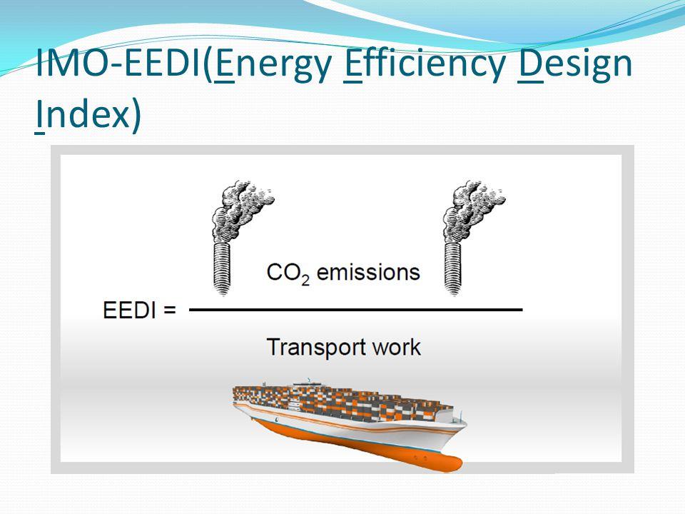 IMO-EEDI(Energy Efficiency Design Index)