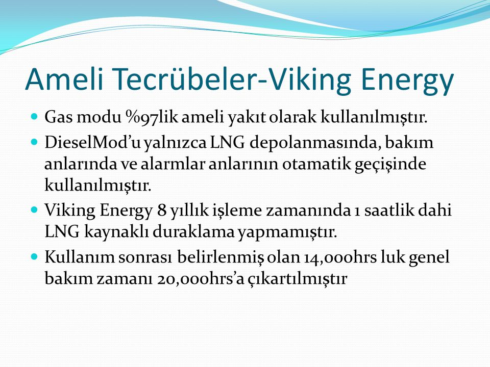 Ameli Tecrübeler-Viking Energy