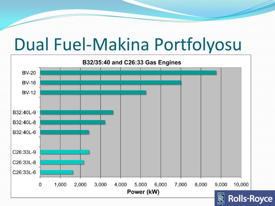 Dual Fuel-Makina Portfolyosu