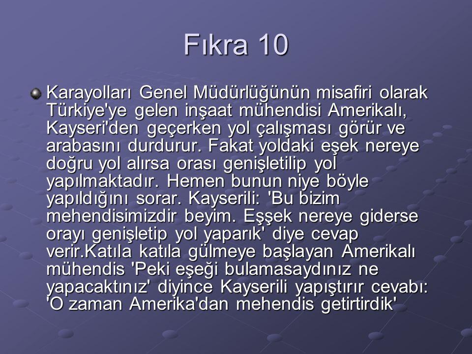 Fıkra 10