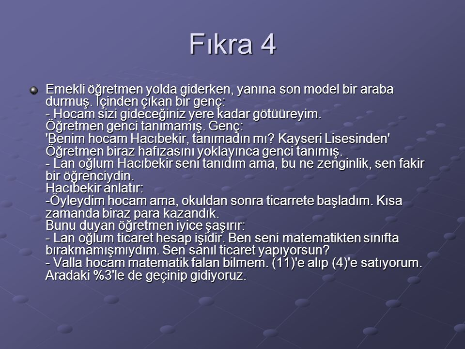 Fıkra 4