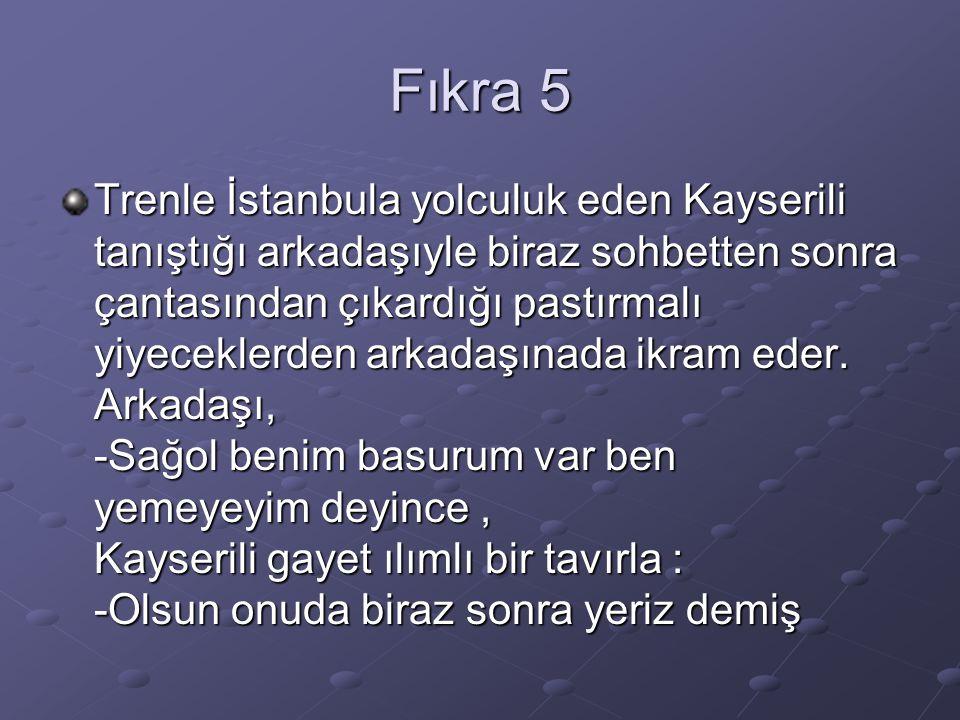 Fıkra 5
