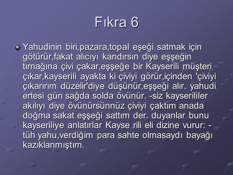Fıkra 6