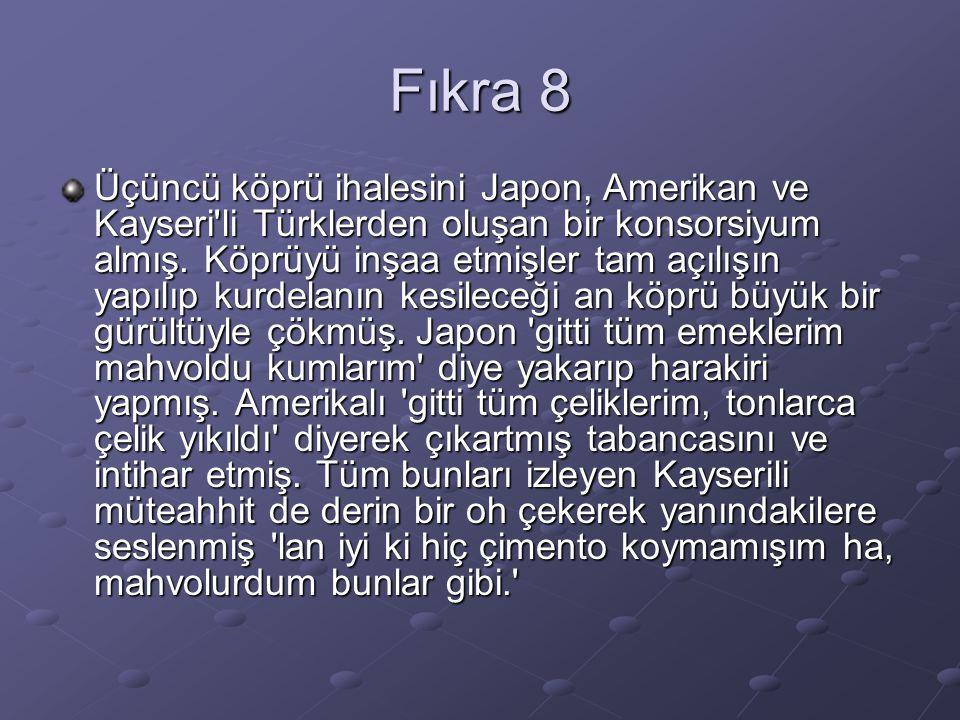 Fıkra 8
