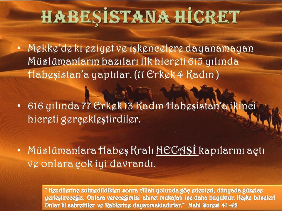 HABEŞİSTANA HİCRET