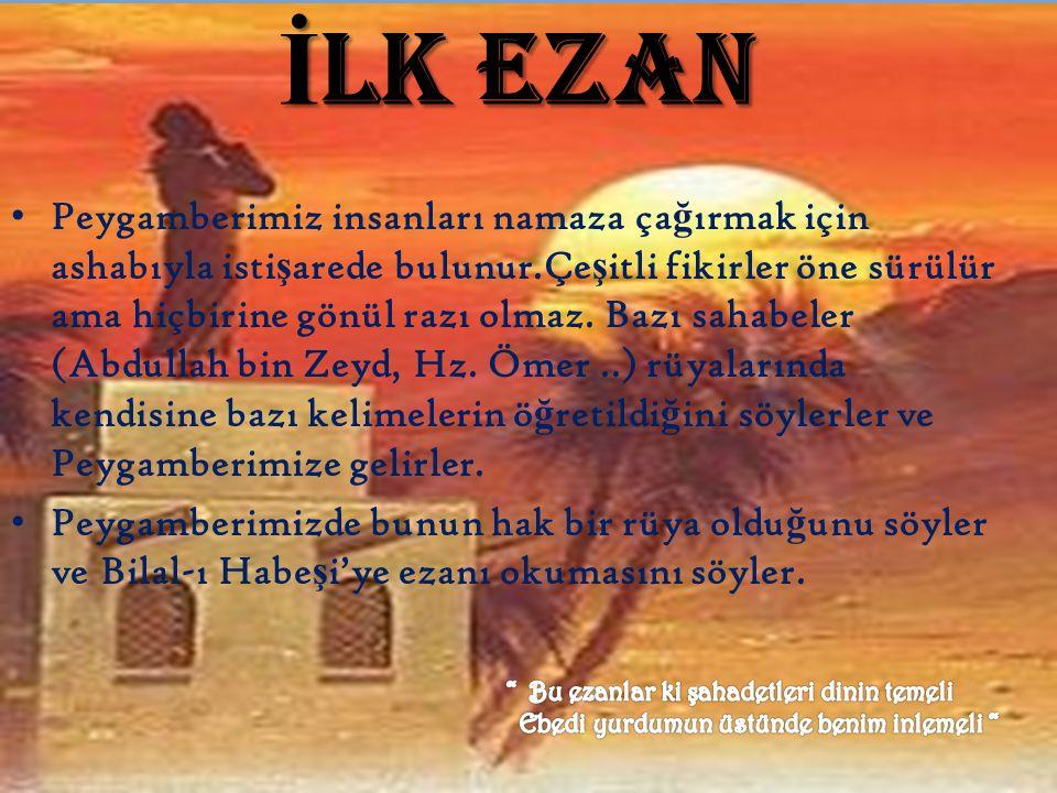 İLK EZAN