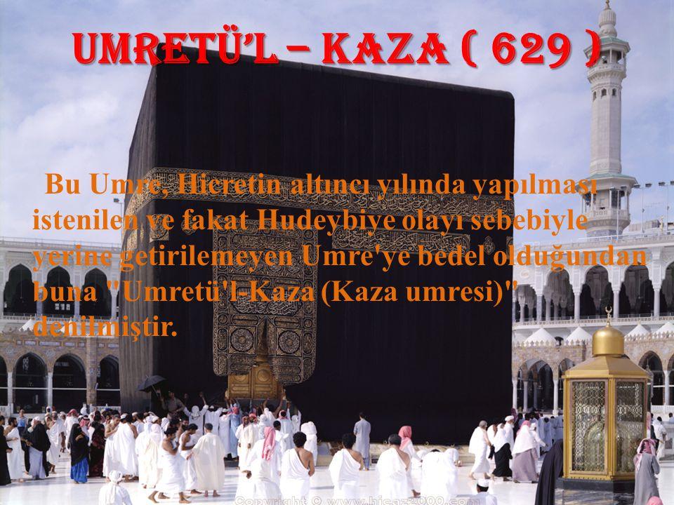 UMRETÜ'L – KAZA ( 629 )