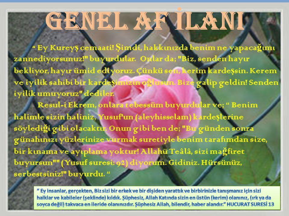 GENEL AF İLANI