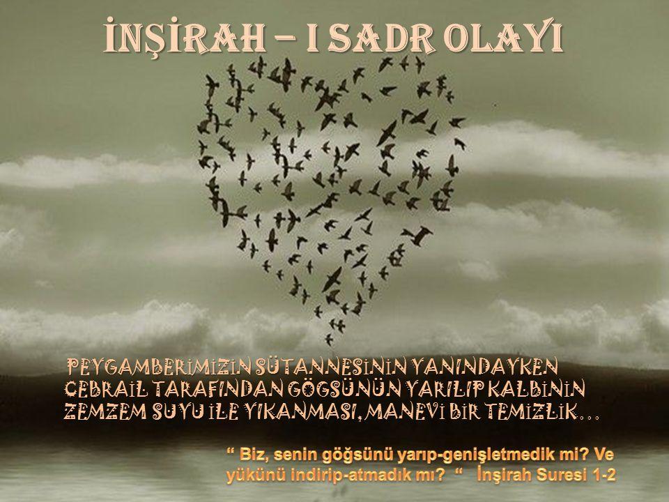 İNŞİRAH – I SADR OLAYI