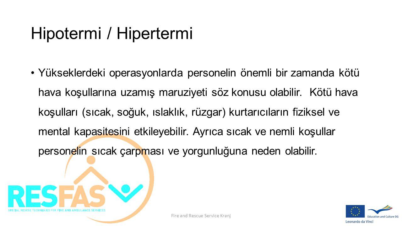 Hipotermi / Hipertermi