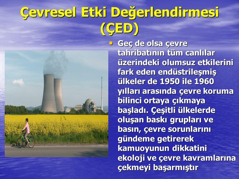 Çevresel Etki Değerlendirmesi (ÇED)