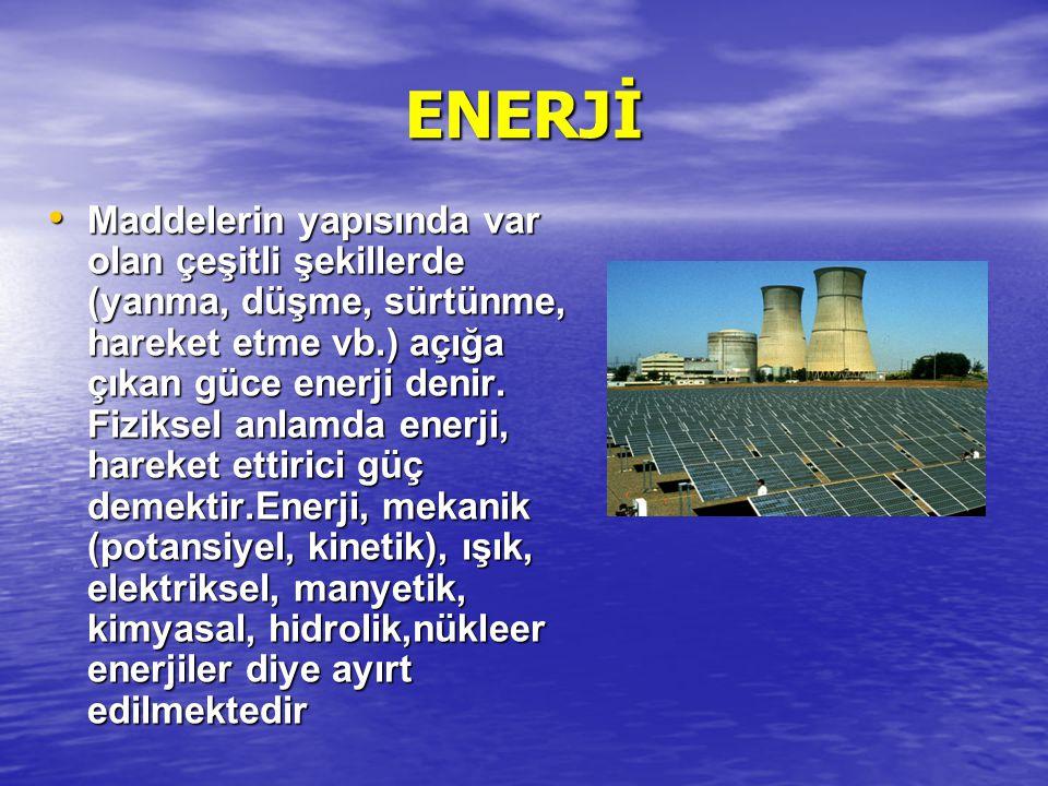 ENERJİ