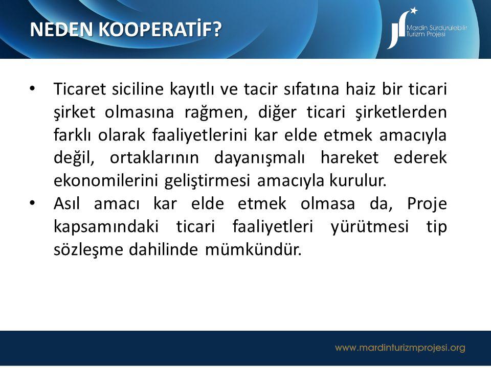 NEDEN KOOPERATİF