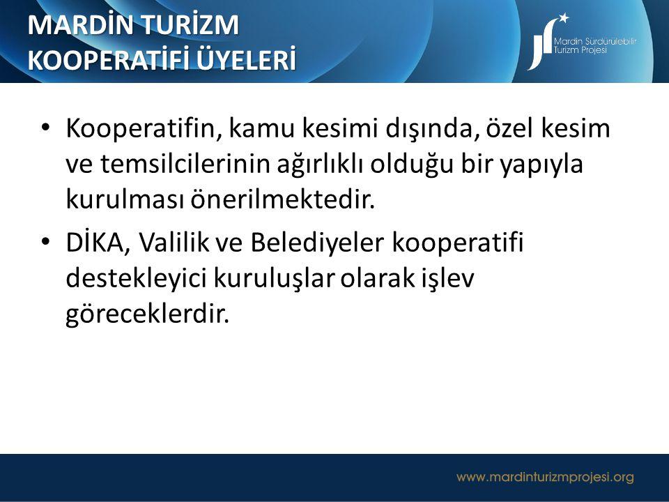 MARDİN TURİZM KOOPERATİFİ ÜYELERİ.