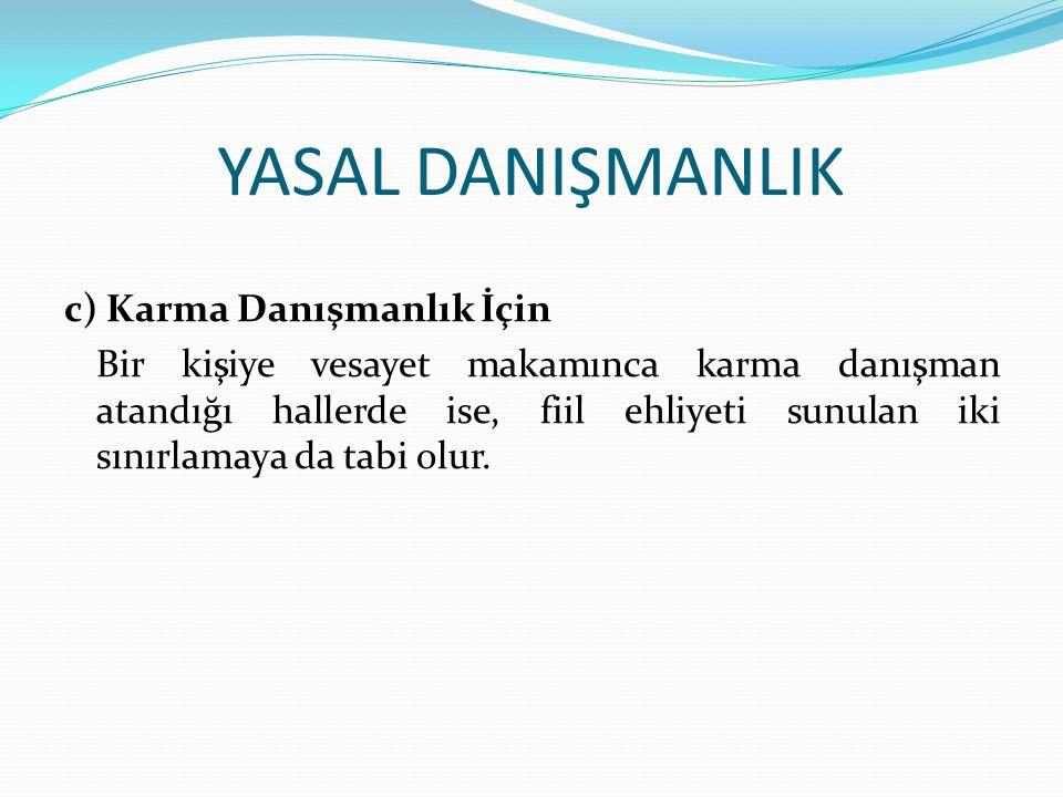 YASAL DANIŞMANLIK