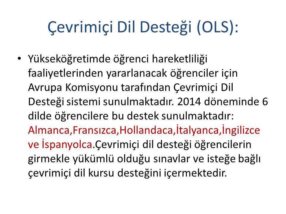 Çevrimiçi Dil Desteği (OLS):