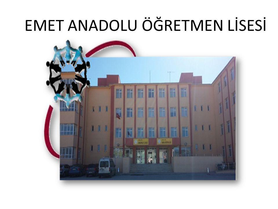 EMET ANADOLU ÖĞRETMEN LİSESİ