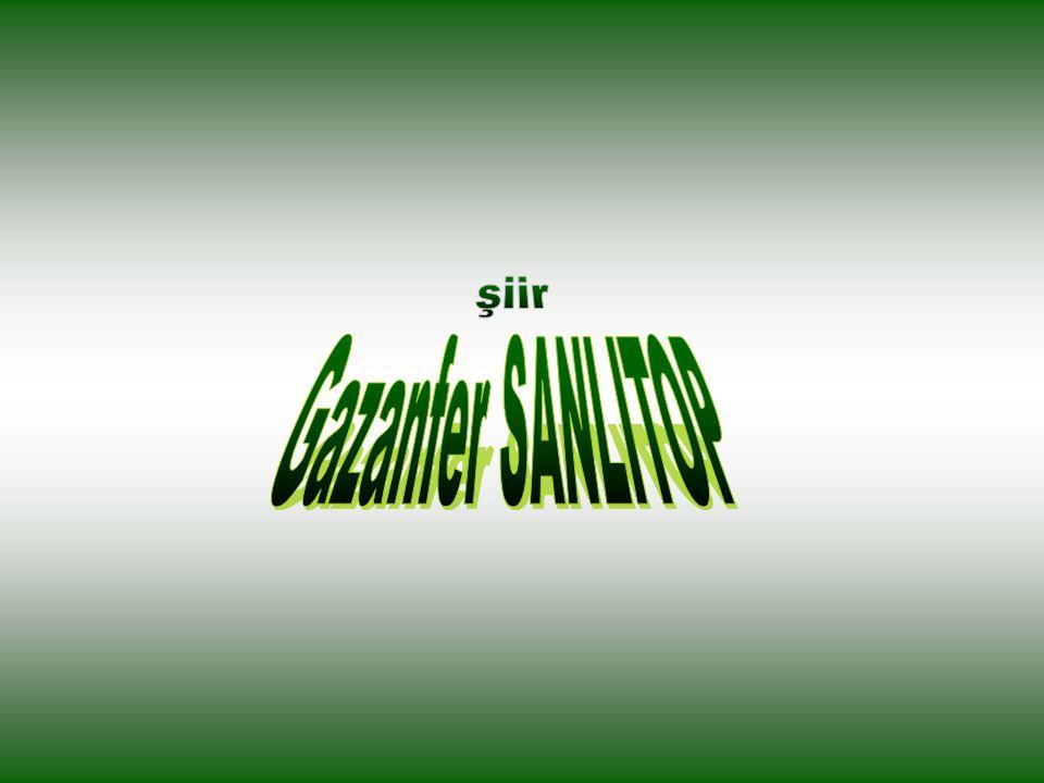 şiir Gazanfer SANLITOP