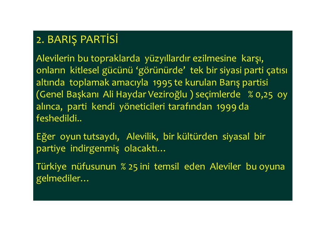 2. BARIŞ PARTİSİ