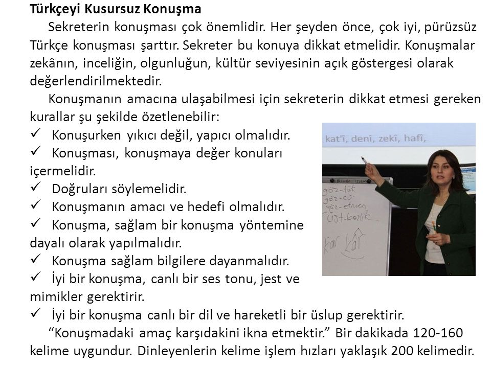 Türkçeyi Kusursuz Konuşma
