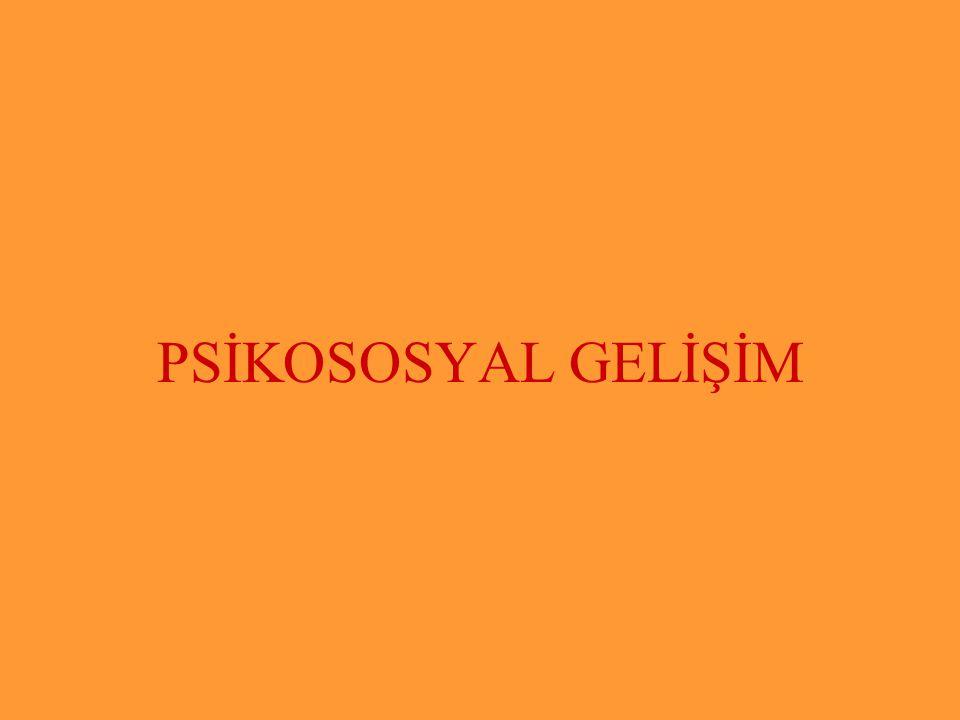 PSİKOSOSYAL GELİŞİM Subaşı İlkokulu Subaşı İlkokulu