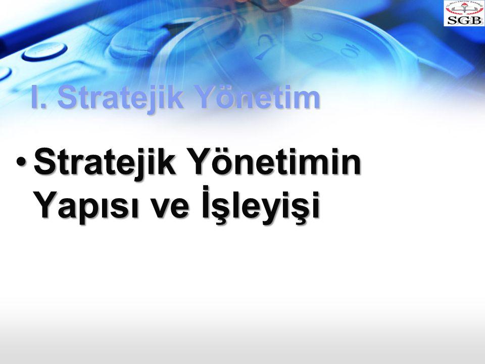 Stratejik Yönetimin Yapısı ve İşleyişi
