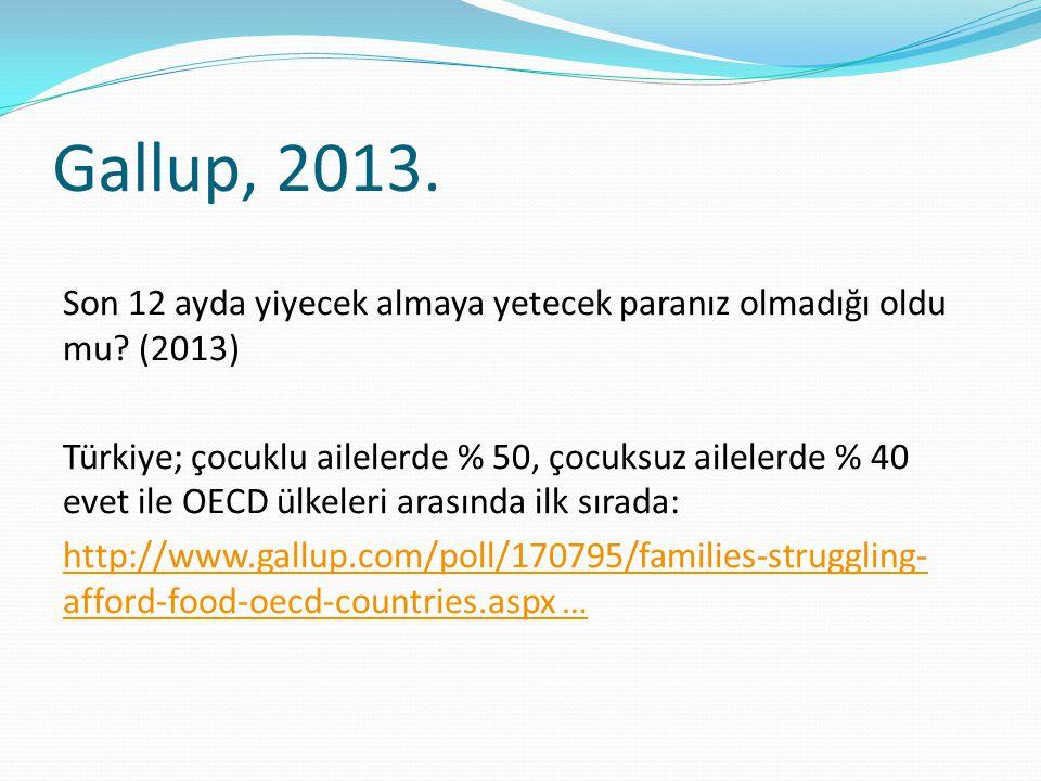 Gallup, 2013.