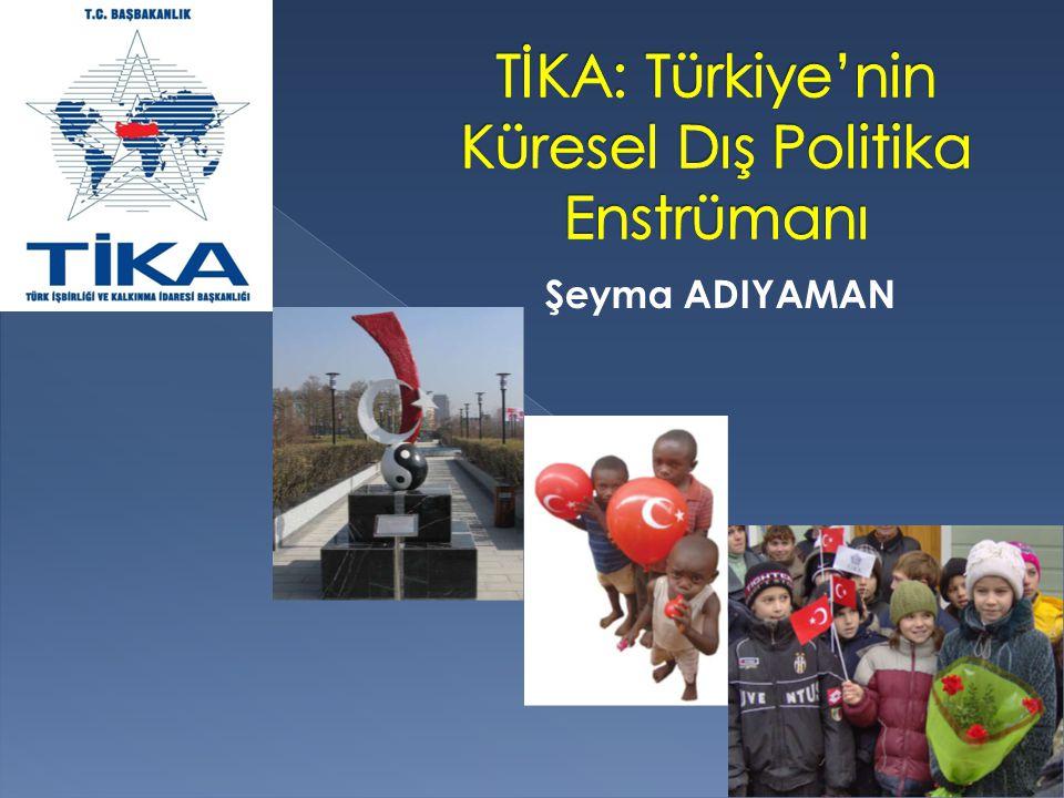 TİKA: Türkiye'nin Küresel Dış Politika Enstrümanı
