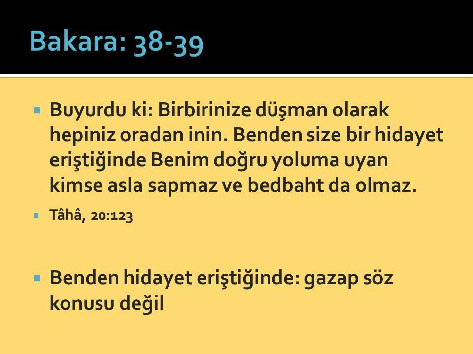 Bakara: 38-39