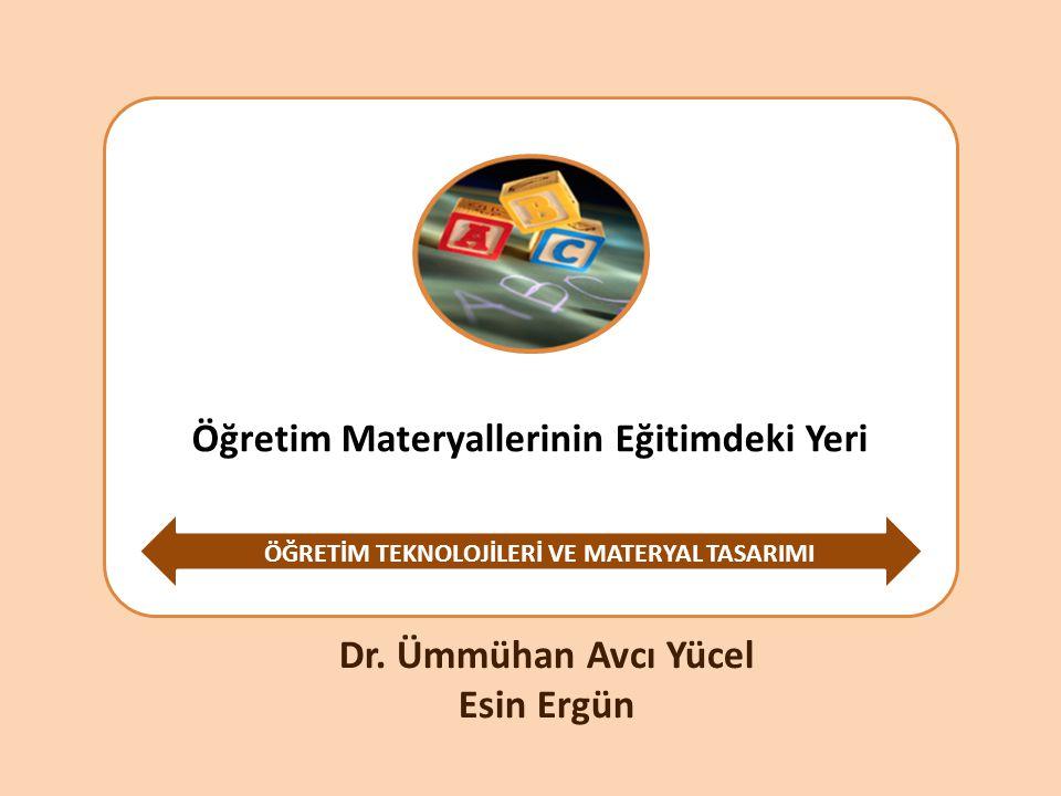 Öğretim Materyallerinin Eğitimdeki Yeri