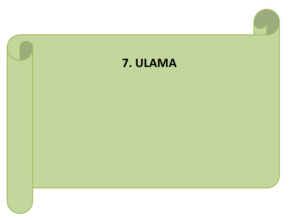 7. ULAMA