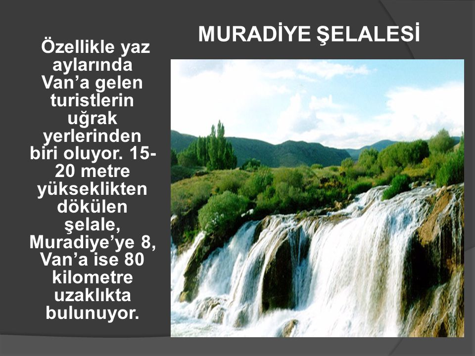 MURADİYE ŞELALESİ