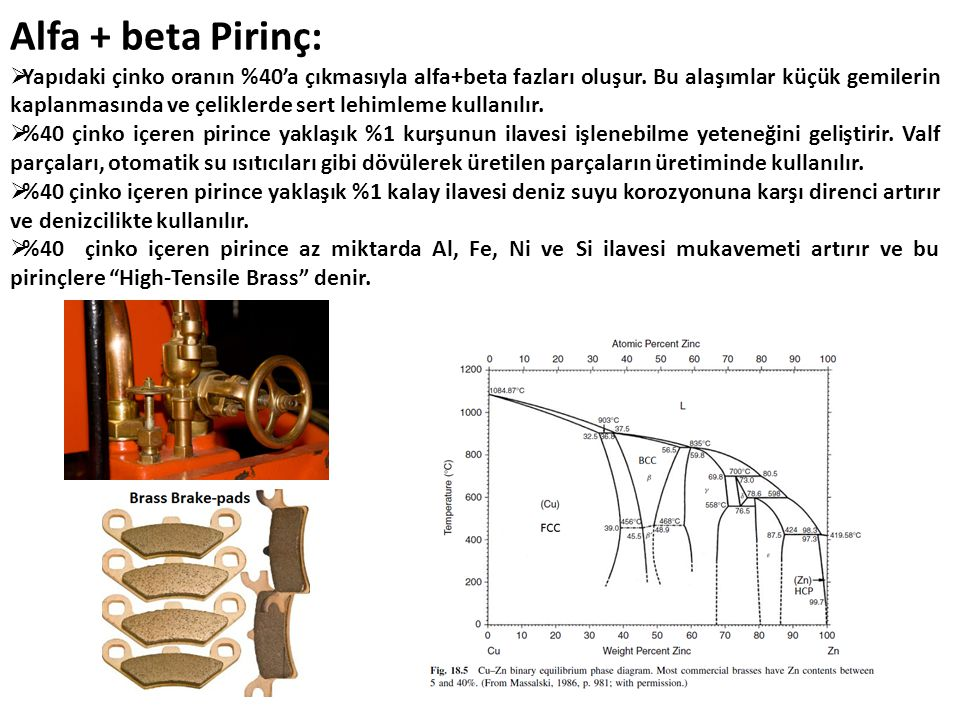 Alfa + beta Pirinç: