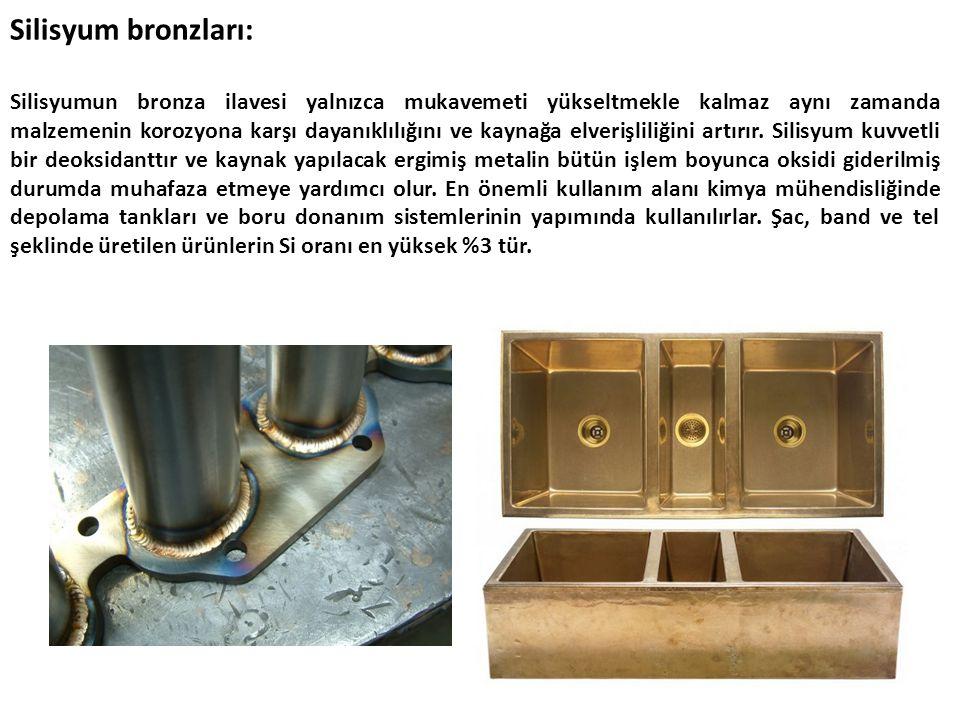 Silisyum bronzları: