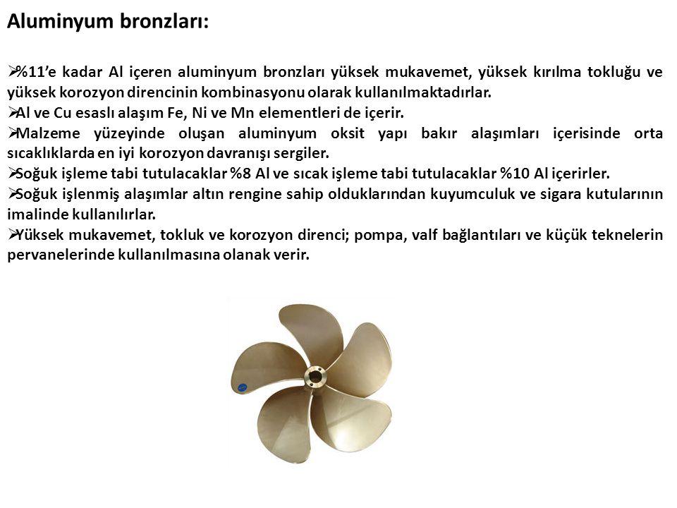 Aluminyum bronzları: