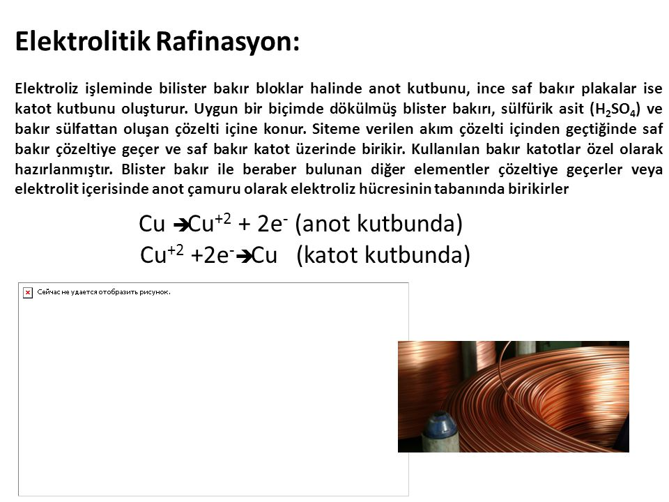 Elektrolitik Rafinasyon: