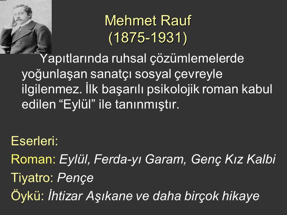 Mehmet Rauf (1875-1931)