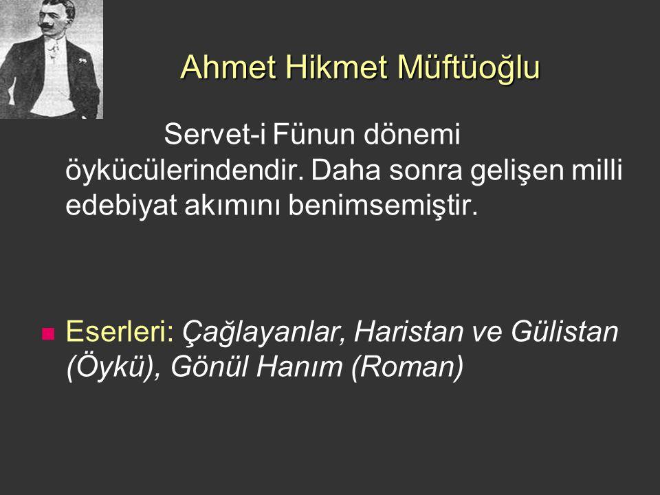 Ahmet Hikmet Müftüoğlu