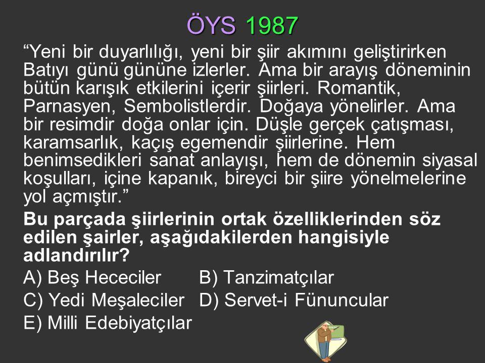 ÖYS 1987