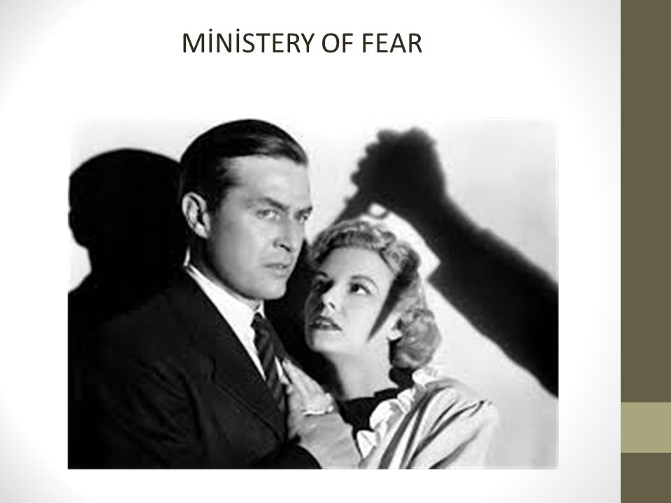 MİNİSTERY OF FEAR