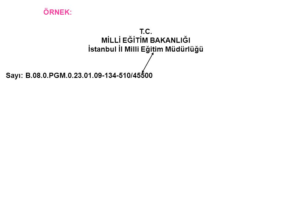 MİLLİ EĞİTİM BAKANLIĞI İstanbul İl Milli Eğitim Müdürlüğü