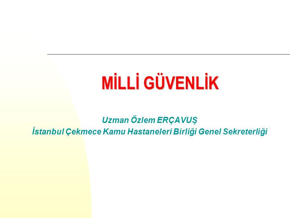 İstanbul Çekmece Kamu Hastaneleri Birliği Genel Sekreterliği