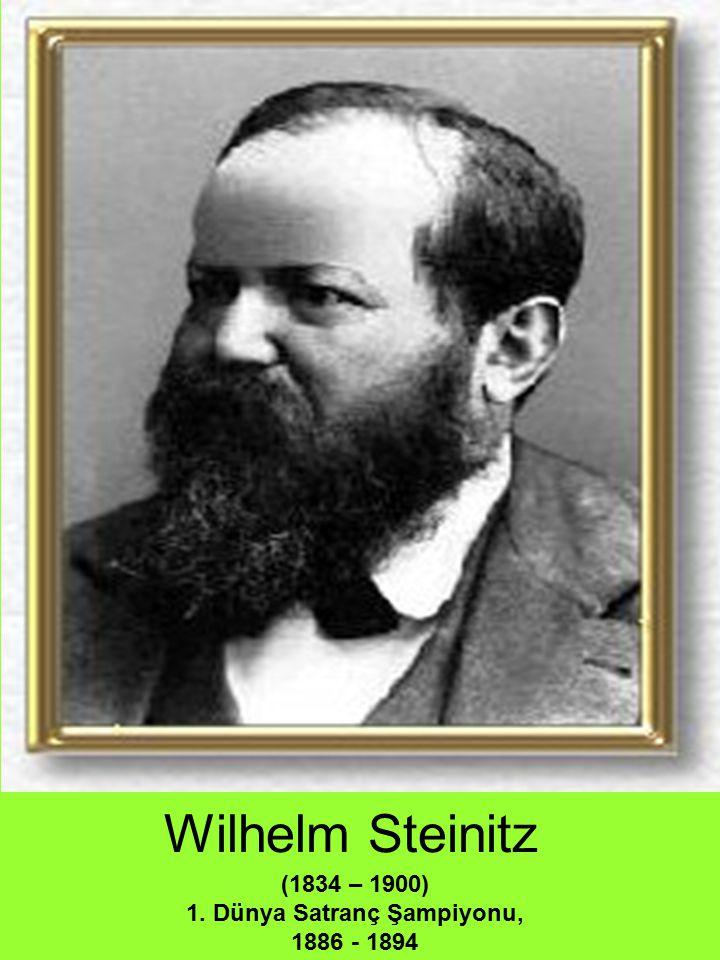 1. Dünya Satranç Şampiyonu, 1886 - 1894