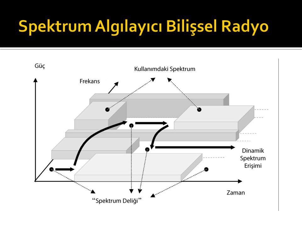 Spektrum Algılayıcı Bilişsel Radyo