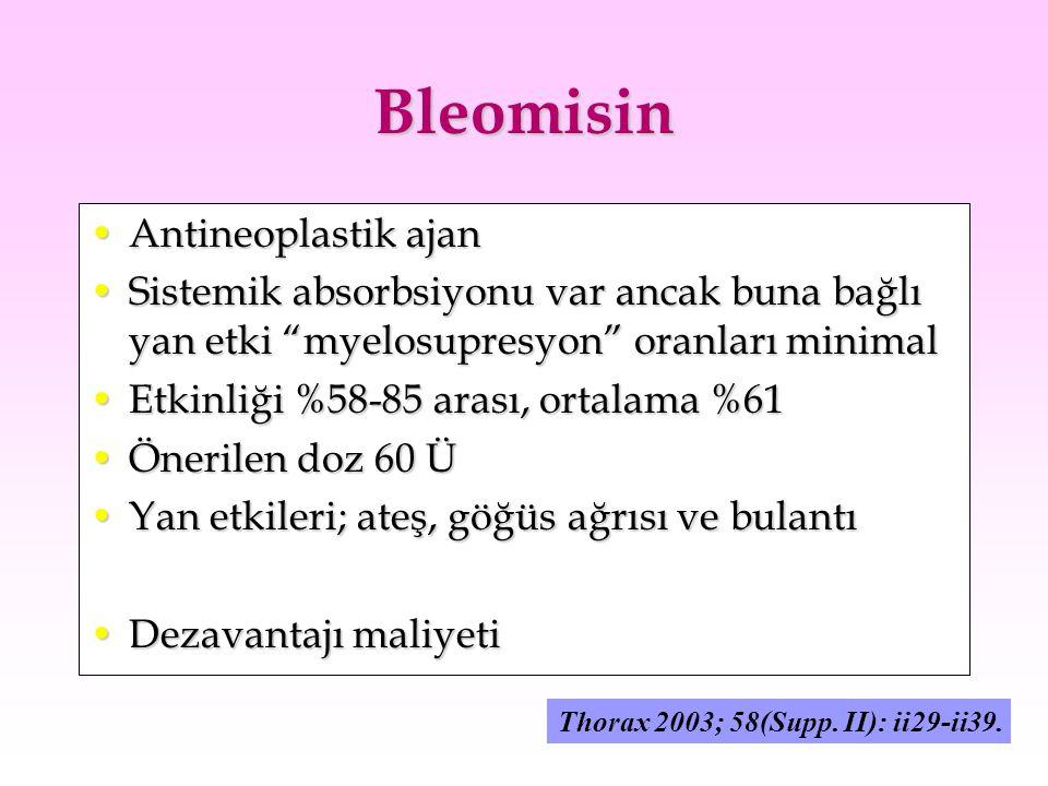 Bleomisin Antineoplastik ajan