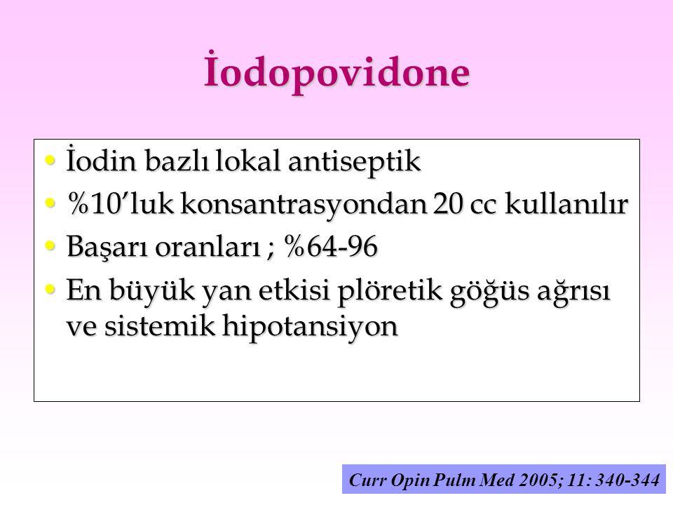İodopovidone İodin bazlı lokal antiseptik
