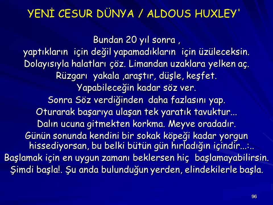 YENİ CESUR DÜNYA / ALDOUS HUXLEY